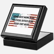 Personalized USA President Keepsake Box