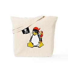 Cool Tux linux Tote Bag