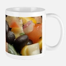 Blackbean and Corn Salad Mugs