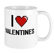 I love Valentines digital design Mugs
