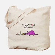Funny Aardvark Cartoon Tote Bag