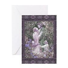 Unique Rapunzel Greeting Card