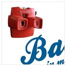 BACK IN MY DAY - VIEW MASTER, DIAL TELEPHONE, CASS Poster