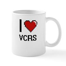 I love Vcrs digital design Mugs