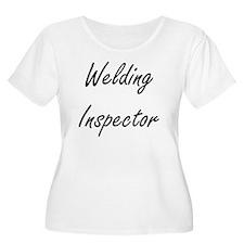 Welding Inspector Artistic Job D Plus Size T-Shirt