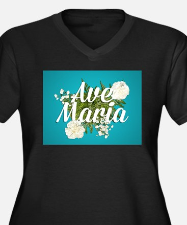 Ave Maria Plus Size T-Shirt