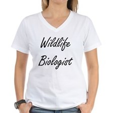 Wildlife Biologist Artistic Job Design T-Shirt