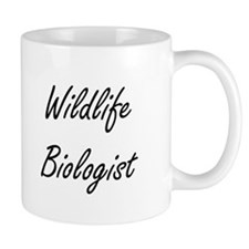 Wildlife Biologist Artistic Job Design Mugs