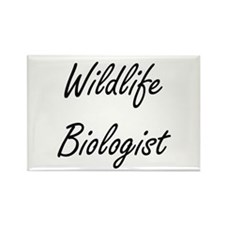 Wildlife Biologist Artistic Job Design Magnets