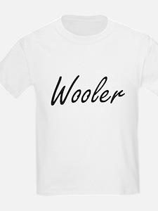 Wooler Artistic Job Design T-Shirt