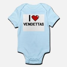 I love Vendettas digital design Body Suit