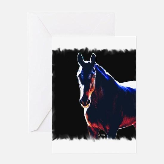 American Saddlebred Greeting Card