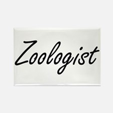Zoologist Artistic Job Design Magnets