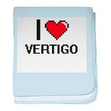 I love Vertigo digital design baby blanket