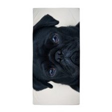 Pug Face Beach Towel
