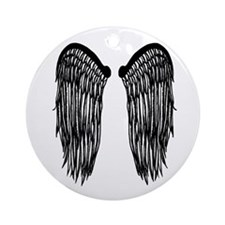 Wings Round Ornament