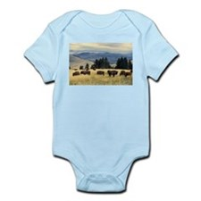 National Parks Bison Herd Body Suit