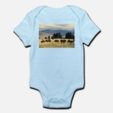 National Parks Bison Herd Body Suit