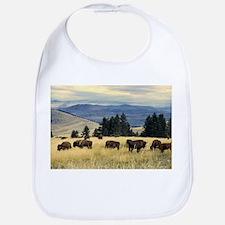 National Parks Bison Herd Bib