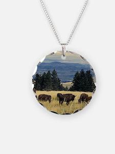 National Parks Bison Herd Necklace