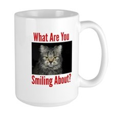 What Are You Smiling About Mugs