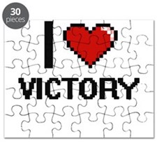 I love Victory digital design Puzzle