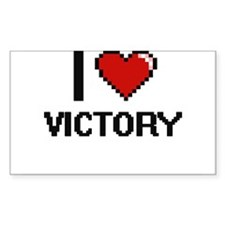 I love Victory digital design Decal