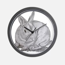 Mini Rex By Karla Hetzler Wall Clock