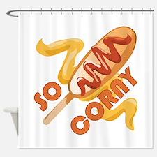 So Corny Shower Curtain