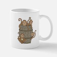 Cute Barrel of Monkeys Mug