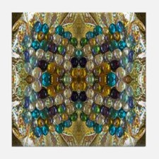 Beaded Pearl Essence  Tile Coaster