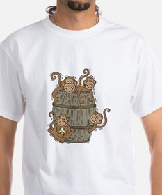 Cute Barrel of Monkeys Shirt