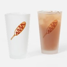 Corn Dog Drinking Glass