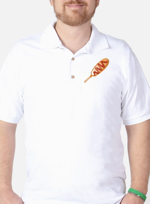 Corn Dog Golf Shirt