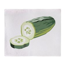 Cucumber Throw Blanket