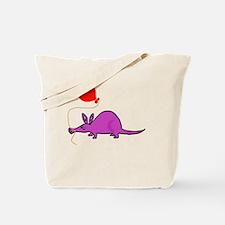 Funny Purple Aardvark Tote Bag