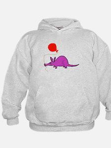 Funny Purple Aardvark Hoodie