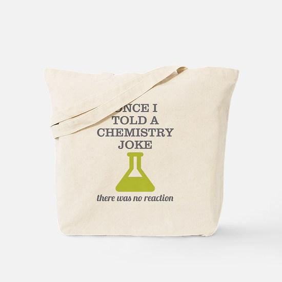 Chemistry Joke Tote Bag