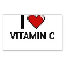 I love Vitamin C digital design Decal