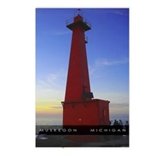 Muskegon Channel Lighthouse PK of 8