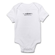 Soprano Sax Rock Infant Bodysuit