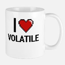 I love Volatile digital design Mugs