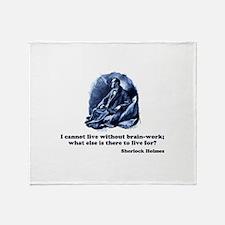 Sherlockian Throw Blanket