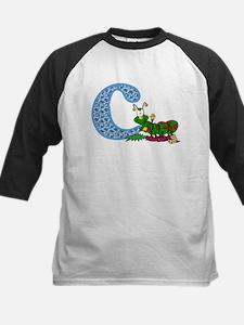 C for caterpillar Baseball Jersey