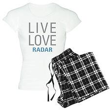 Live Love Radar Pajamas