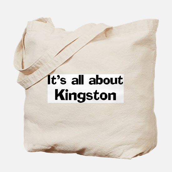 About Kingston Tote Bag