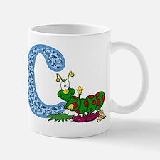 C for caterpillar Mugs