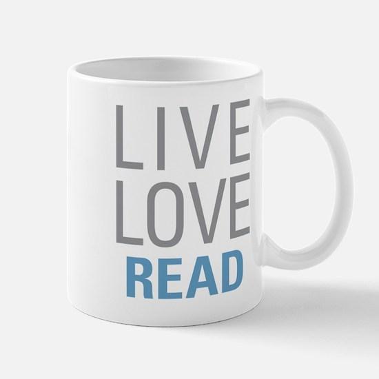 Live Love Read Mugs