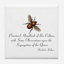 Sherlock's Bees Tile Coaster