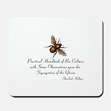 Sherlock's Bees Mousepad